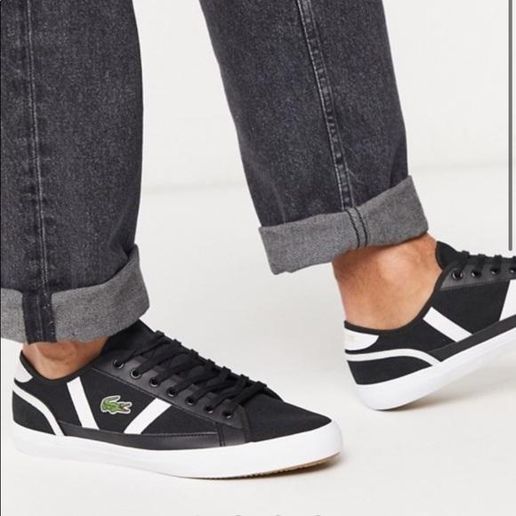 Lacoste Shoes | Sideline Sneakers Black